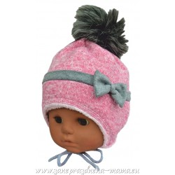 Dievčenská čiapka polar, ružová