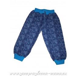 Tepláky, modrý melír