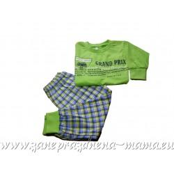 Pyžamo s potlačou – GRAND PRIX,zelené