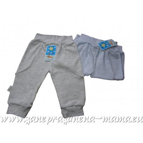 Bavlnené melírované nohavice