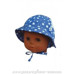 Chlapčenský klobúčik s hviezdičkami
