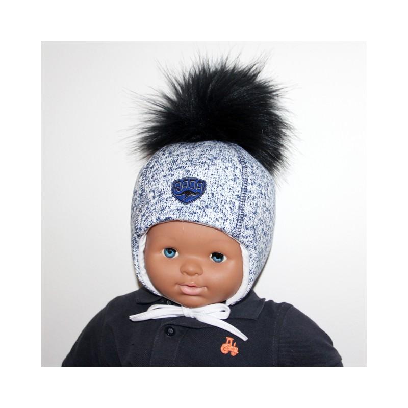 0b2300197 chlapčenská zimná čiapka rada