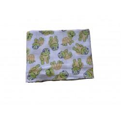 Bavlnená plienka, korytnačky