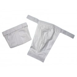 Biele ortopedické nohavičky 1,2