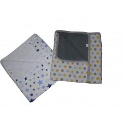 Obojstranná deka 75x100 cm