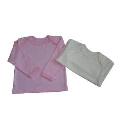 Jednofarebné tričko s dlhým rukávom