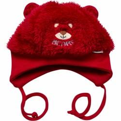 Čiapka Macík, červená
