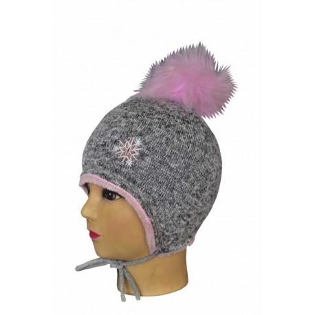 Dievčenská zimná čiapka I