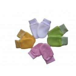 Kojenecké rukavičky, úpletové