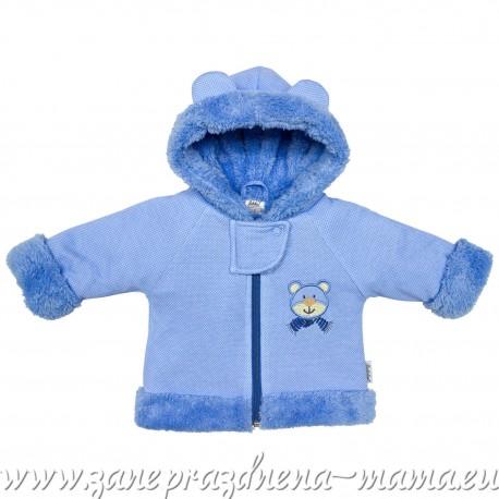 Kabátik MÉĎA, modrá