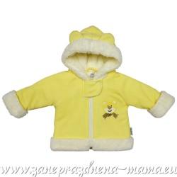 Kabátik MÉĎA, žltá