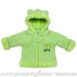 Kabátik MÉĎA, zelená