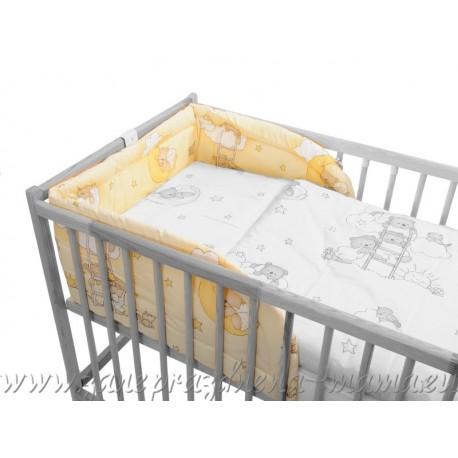 Mantinel macko na rebríku, smotanový