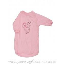 Spací vak Mačička, ružový