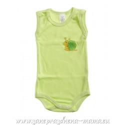Tielkové body Slimáčik, zelené