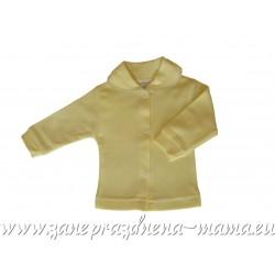 Bavlnený kabátik, žltý