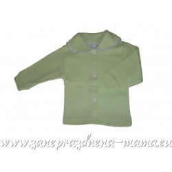 Bavlnený kabátik, zelený