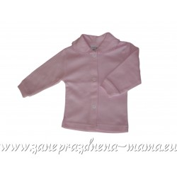 Bavlnený kabátik, ružový