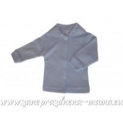 Bavlnený kabátik, modrý