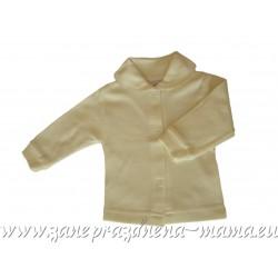 Bavlnený kabátik, smotanový