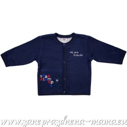 Kabátik Mazlíček, tmavo modrý