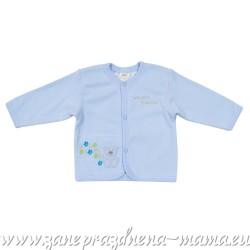 Kabátik Mazlíček, bledo modrý