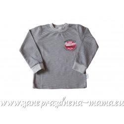 Tričko Sivý pásik