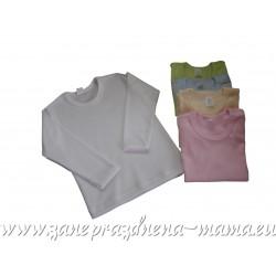 Tričko jednofarebné