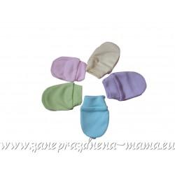 Bavlnené rukavičky, jednofarebné